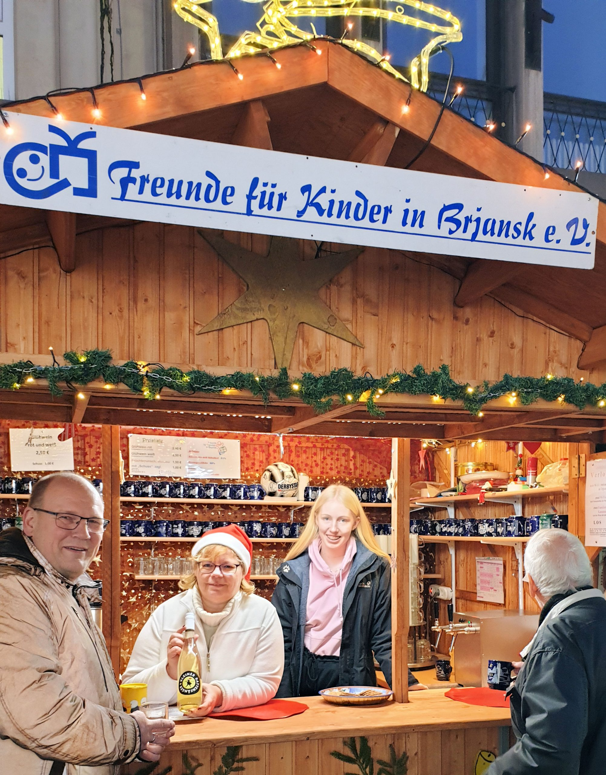Weihnachtsmarkt Hameln Freunde für Kinder in Brjansk