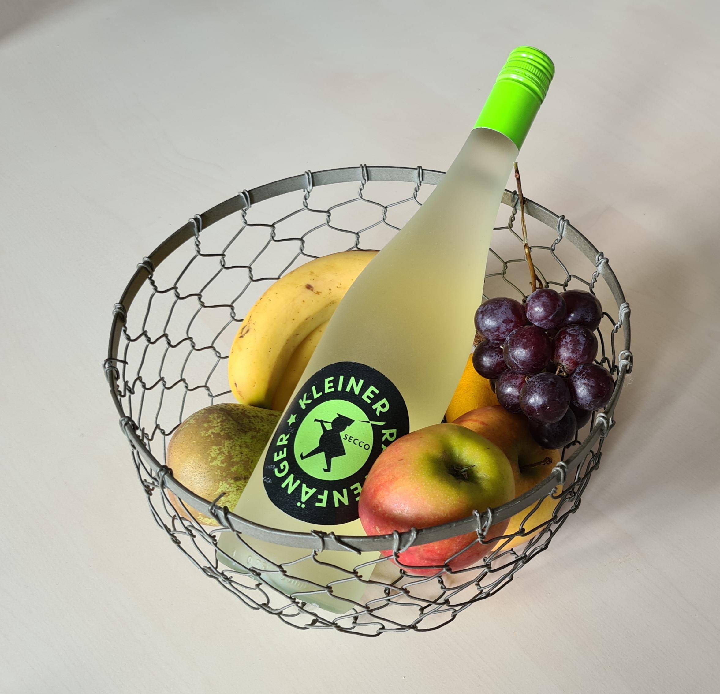 Secco mit Obst